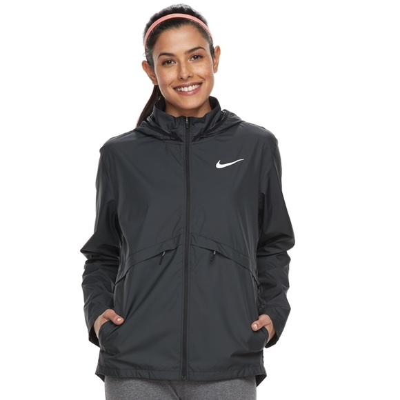 Women's Nike Essential Hooded Running Jacket NWT
